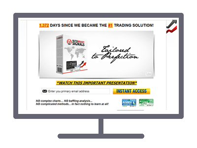 Auto Binary Signals Website